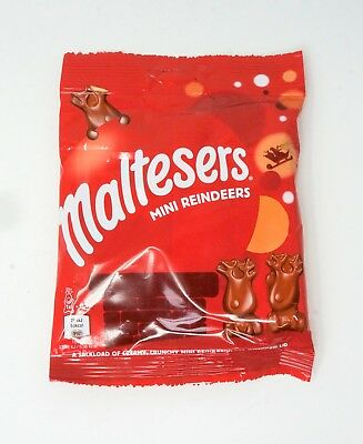 Maltesers Mini Reindeer Christmas Milk Chocolates 5 in Pack for Gift