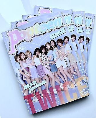 Twice Popteen Magazine Special Edition August 2017 Japan   Us Seller  Free Ship
