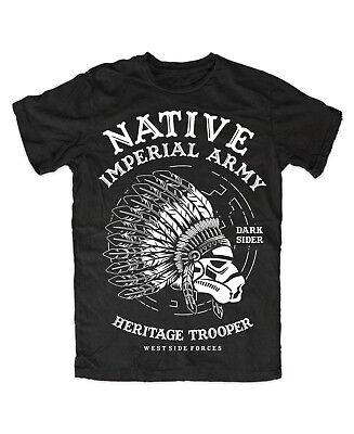 Indian Trooper premium T-Shirt  Kult,Fun Lustig