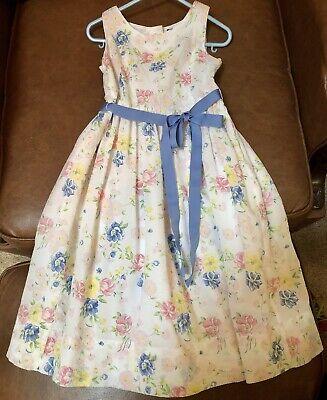POLO RALPH LAUREN GIRLS  FLORAL DRESS Size -5