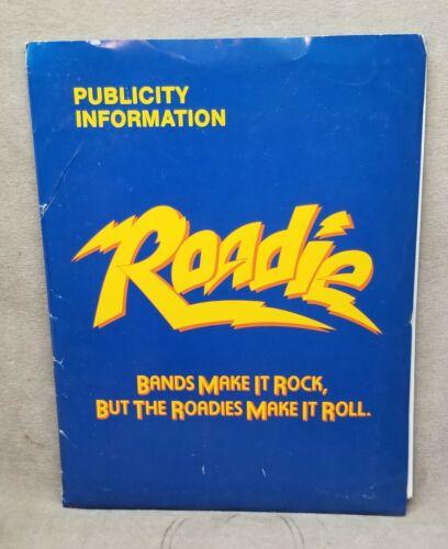 1980 Original Movie Press Kit Roadie includes 11 Photos Meatloaf  Alice Cooper.