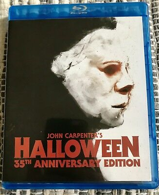 Halloween - 35th Anniversary Edition (Blu-ray) LN VIEWED - Halloween 35th Anniversary Edition