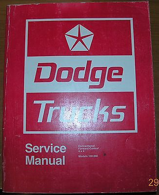 NICE Mopar 71 Dodge Service Manual Truck 72 73 74 100 200 300 400 500 600 to 800 100 200 400 800 Manual