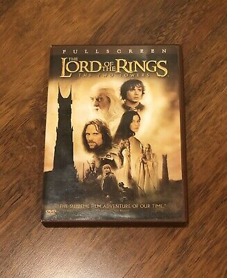 The Lord Of The Rings The Two Towers DVD Full Set *Great Condition*
