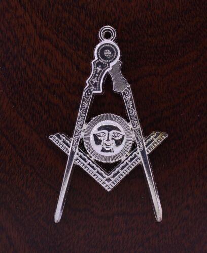 Masonic Collar Jewel Senior Deacon SD Silver Freemason Mason