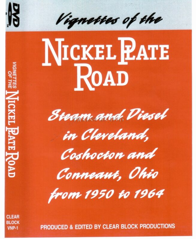 VIGNETTES OF THE NICKEL PLATE ROAD CLEAR BLOCK DVD NEW