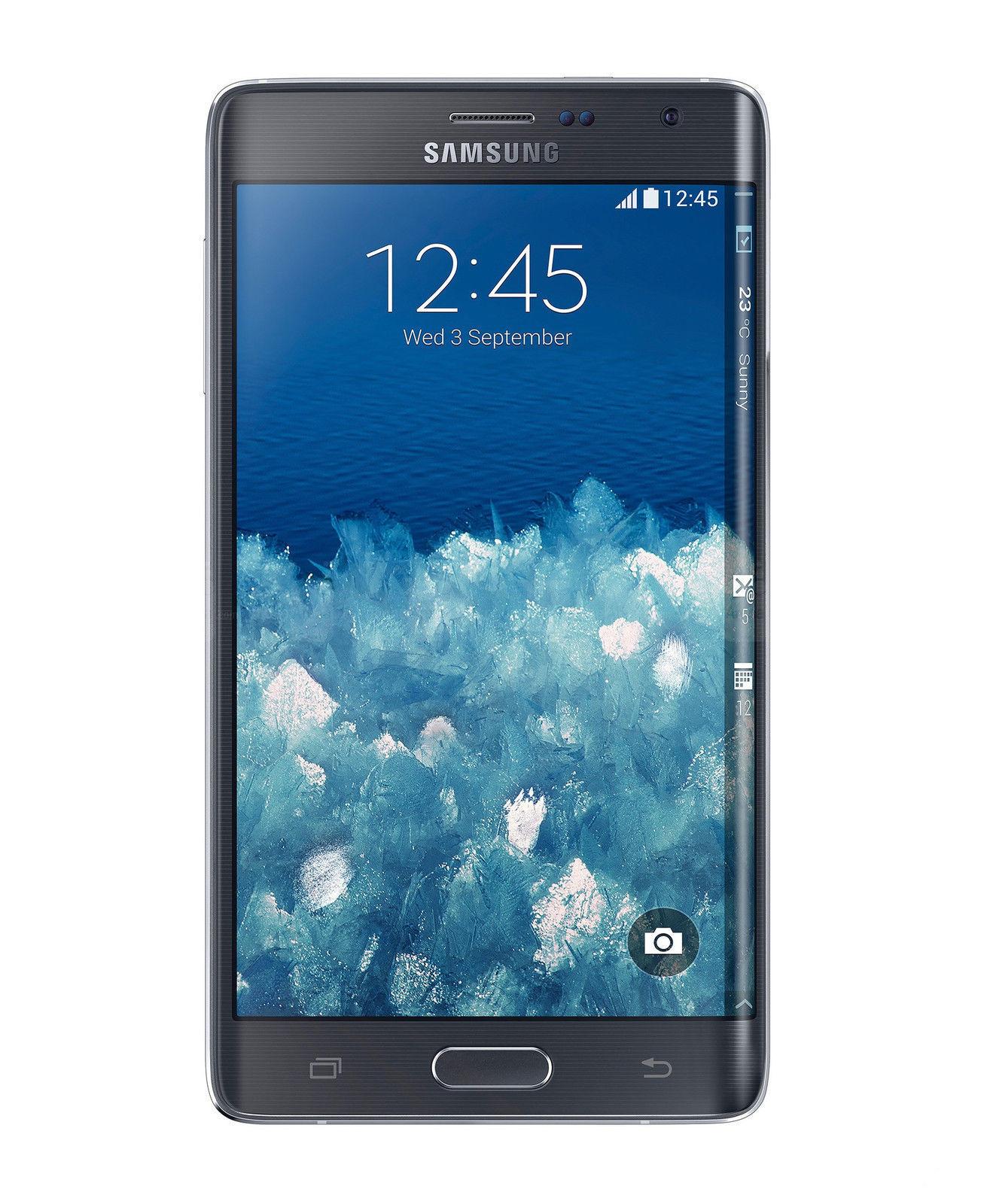 Samsung Galaxy Note Edge SM-N915A - 32GB - Charcoal Black (AT&T) Smartphone
