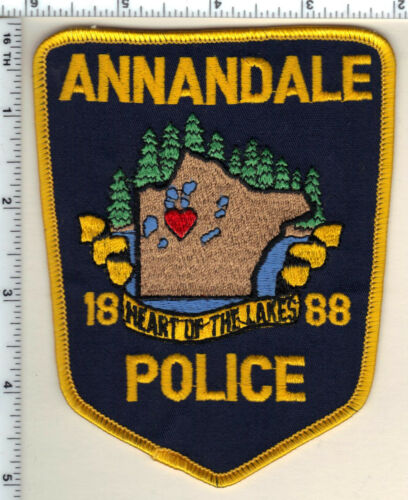 Annandale Police (Minnesota)  Shoulder Patch  - new from 1991