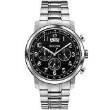 Bulova Men's 96B202 Chronograph Stainless Steel Bracelet Watch