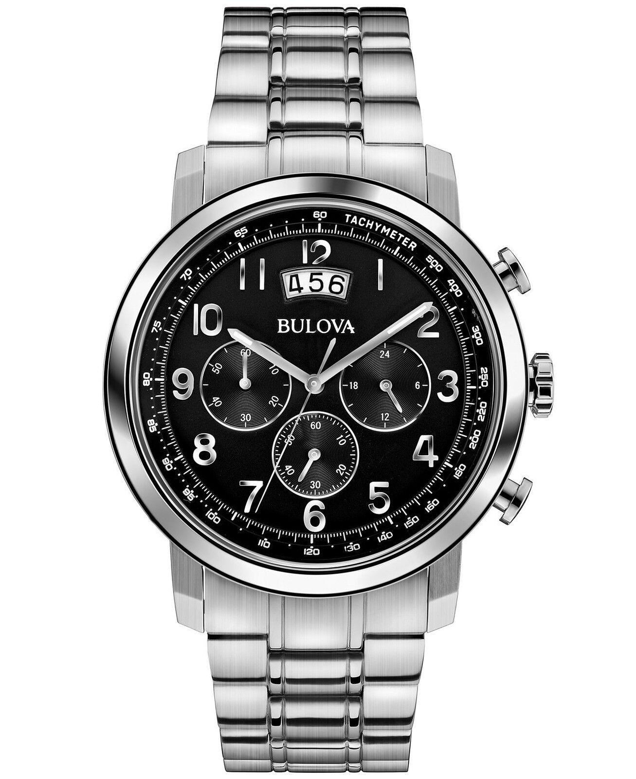 bulova men 039 s 96b202 chronograph stainless steel bracelet categories