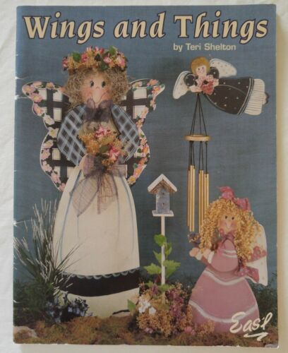 Easl Decorative Painting Pattern Book WINGS and THINGS by Teri Shelton
