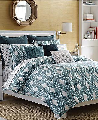 Nautica Full Queen Comforter Set Caswell 3 Pc. Set 1st Quality NEW - Nautica Queen Comforter