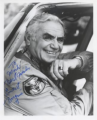 ERNEST BORGNINE Autographed Signed PHOTOGRAPH Marty McHales Navy Academy Award
