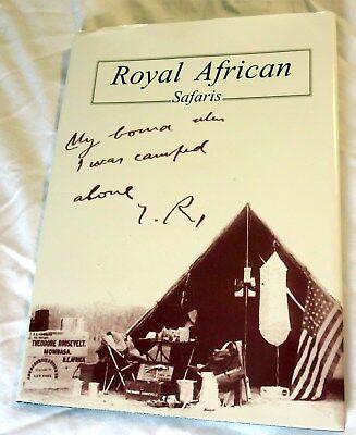 Royal African Safaris Hardcover w/Dust Jacket Book