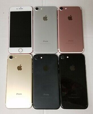 Apple Iphone 7 AT&T Sprint T-Mobile TracFone Unlocked IOS Smartphone All Colors