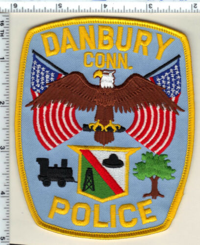 Danbury Police (Connecticut) Shoulder Patch - new from 1987