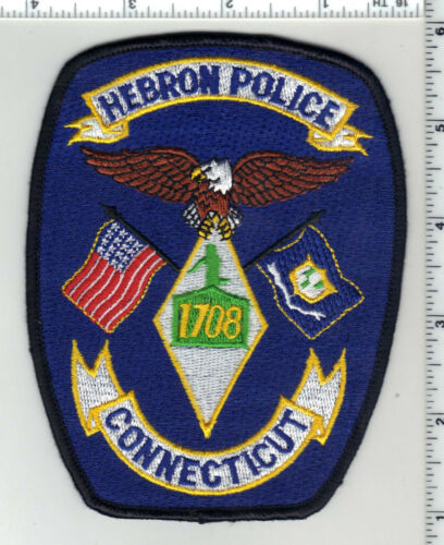 Hebron Police (Connecticut) 1st Issue Shoulder Patch