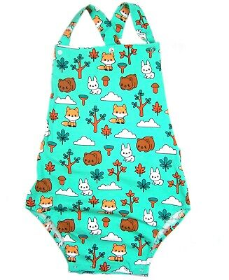 imals sunsuit/romper autistic, diaper wear (Baby Animals Kostüme)