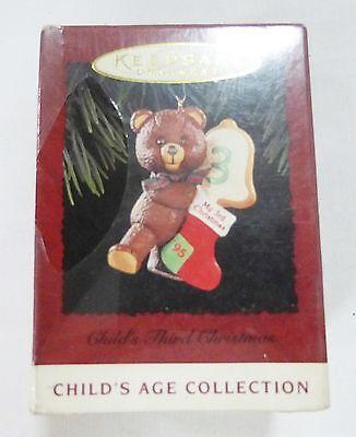 Hallmark keepsake christmas ornament childs third christmas Childs Third Christmas Ornament