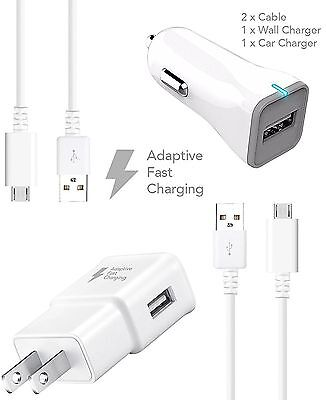 LG G Vista 2 Charger Fast Micro USB 2.0 Cable Kit by Ixir -