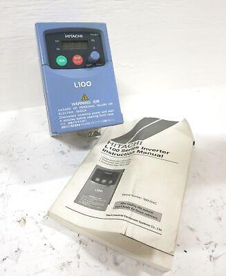 Hitachi L100-004nfu 0.5 Hp Ac Transistor Inverter Vs Drive .5hp 0.4kw 2.6a