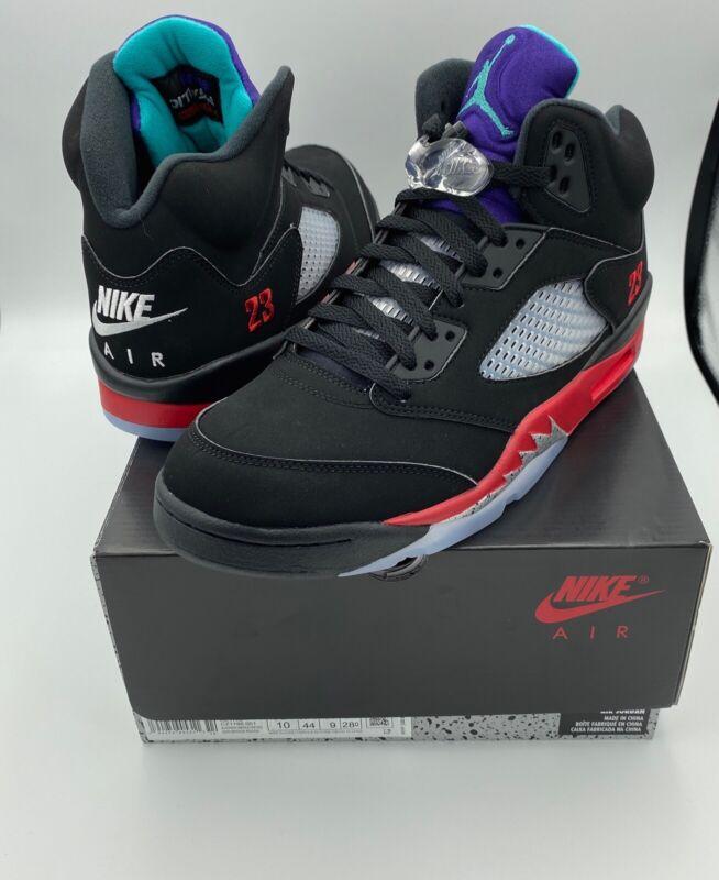 Nike Air Jordan 5 Top 3 Grape Size 10