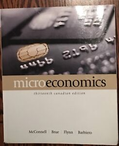 Microeconomics mcconnell kijiji in toronto gta buy sell microeconomics textbook 13th canadian edition fandeluxe Gallery