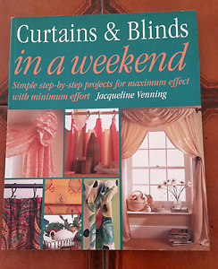 Book - Curtains & Blinds in a weekend Stafford Heights Brisbane North West Preview