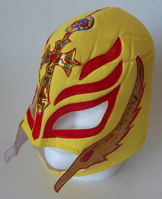 Rey Mask (Adult Mexican Lucha Libre Wrestling Mask Club America Futbol Rey)