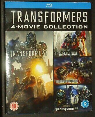 Transformers 4-Movie Collection Box Set 5 Disk Blu-Ray Region Free (1)