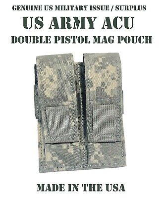 SPECTER GEAR 275 ACU US ARMY MILITARY MOLLE DOUBLE PISTOL MAG MAGAZINE POUCH NEW
