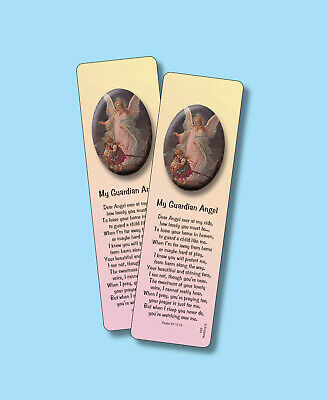"""My Guardian Angel"" - Inspirational Poem - 2 Verse Bookmarks -sku# VBM533"
