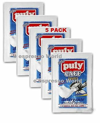 Puly Caff Plus Espresso Coffee Machine Cleaning Backwash Powder Pack 5 - 20 Gr