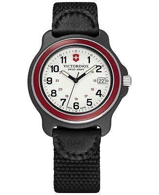 Victorinox Swiss Army Original RED  Quartz Analog Men's Watch 249085 oversize