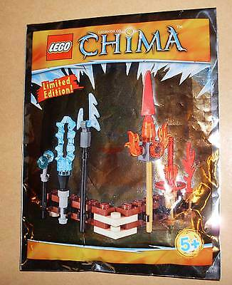 Lego Legends of Chima - LOC391504 Fire and Ice Weapon - Polybag Tütchen Neu
