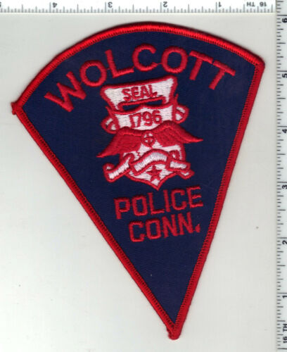 Wolcott Police (Connecticut) 1st Issue Shoulder Patch