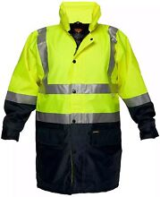 Prime Mover Safety High-Vis Storm Jacket -Used Wanneroo Wanneroo Area Preview
