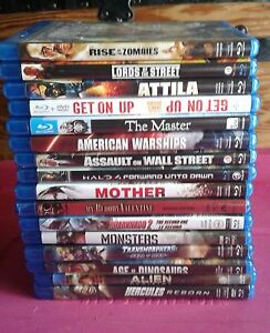 16 Blu-ray movies dvd mint condition