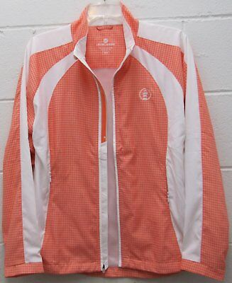 Harbour Town Golf (Harbour Town Golf Links Course Women's Athletic Windwear Jacket Coral Medium New)