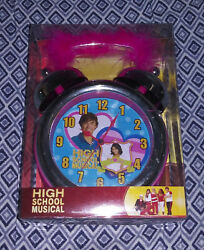 Disney High School Musical Twin Bell Alarm Clock 8HSM064A1WM Brand New