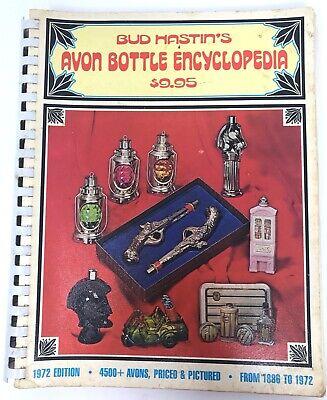 VINTAGE 1972 BUD HASTIN'S AVON BOTTLE ENCYCLOPEDIA SpiralBound Good Condition