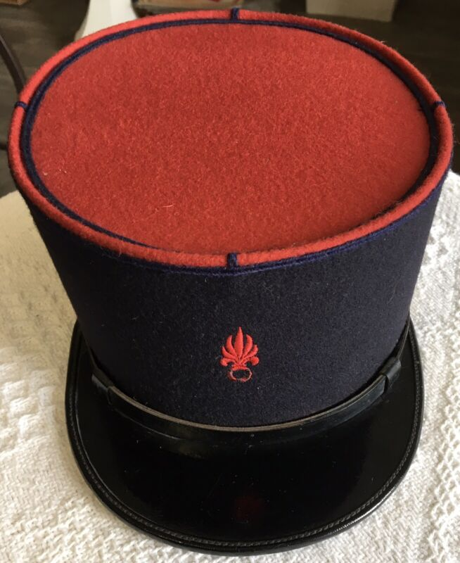 Original French Foreign Legion Kepi Hat Unissued