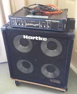 Hartke 3500 Bass Guitar Amp and 410XL Cab