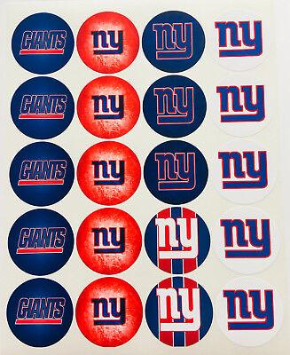 Ny Giants Birthday (SET of 20- 2