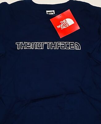 THE NORTH FACE S/S Movin' Logo Men's T-Shirt XXL sz 2XL Tee Ski Skiing NEW NWT