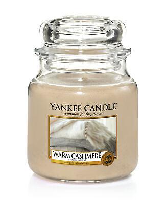 Yankee Candle Housewarmer WARM CASHMERE 411g/ Stimmung/ köstlicher Duft