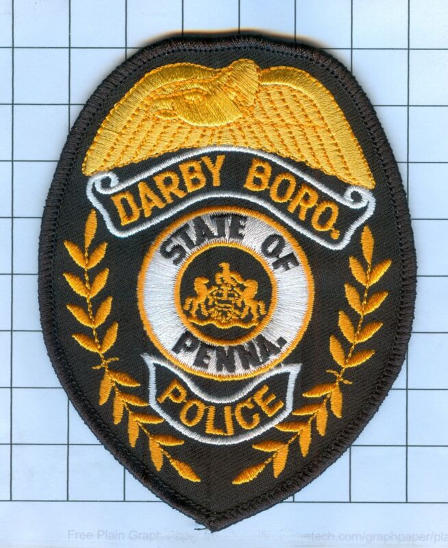 POLICE PATCH - DARBY BORO., PENNA.