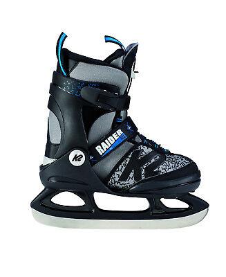 K2 Raider Ice Skate Schlittschuhe für Kinder größenverstellbar wächst mit  Kind ()