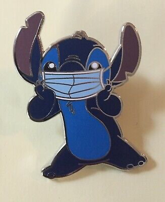 "Disney Pin Stitch In Mask Pin 1 1/2"" Pin With Stitch From Lilo And Stitch"