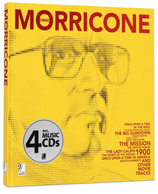 Ennio Morricone - Hardcover + 4 Audio CDs ***New***